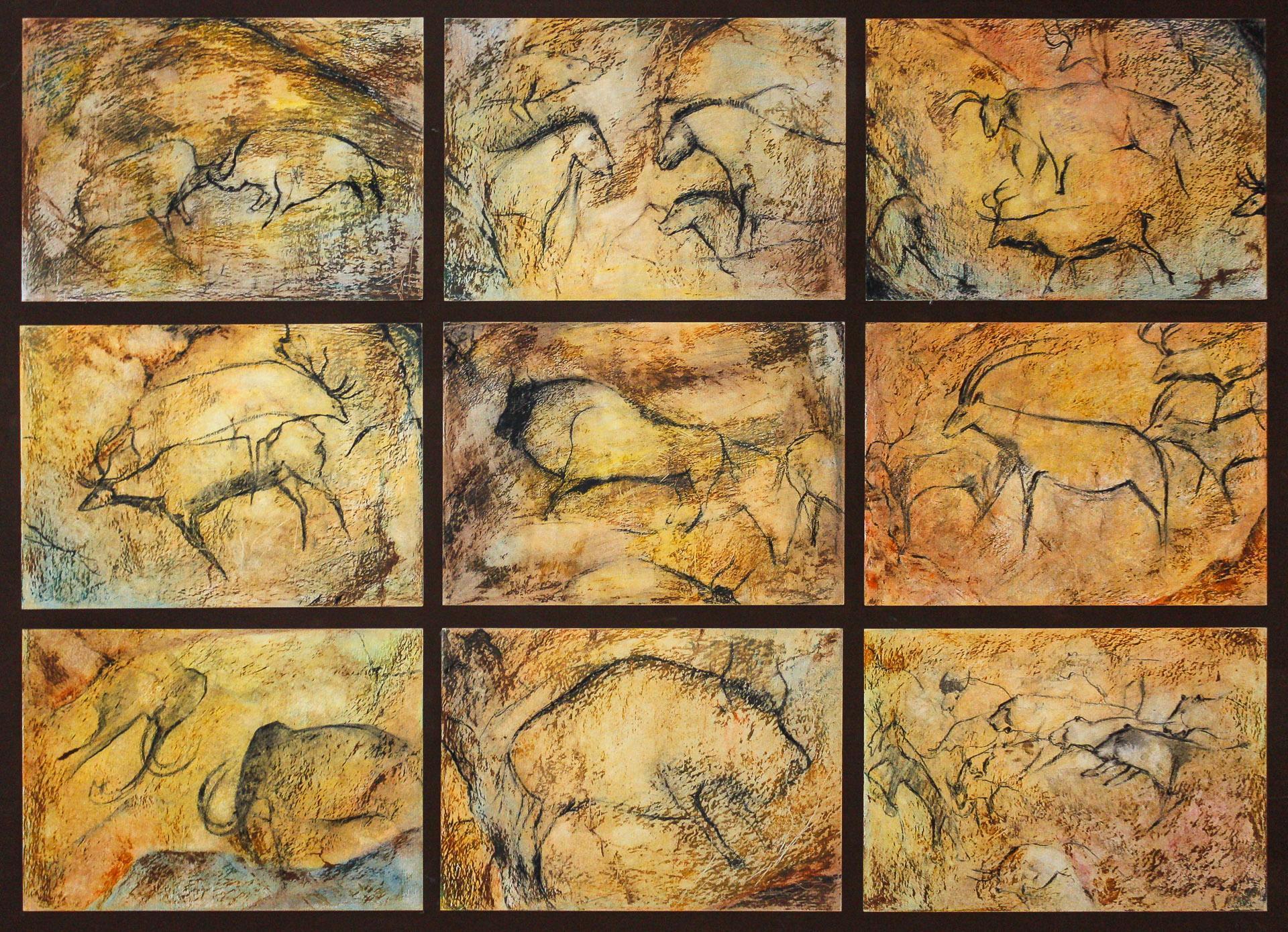 Anna Gestrich – Malerei | Höhlenmalerei