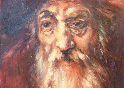 """Rembrandt van Rijn """"Porträt eines alten Juden"""""""