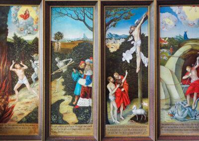 Lucas Cranach Altar in St. Wolfgang zu Schneeberg