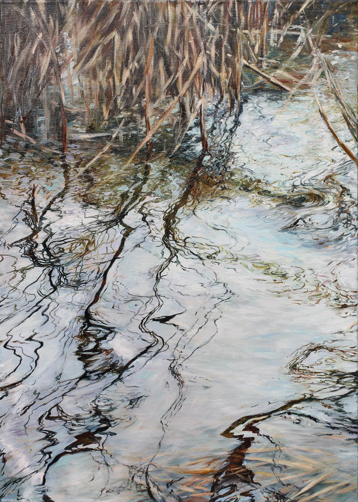 Anna Gestrich – Malerei | Wasserspiegelung