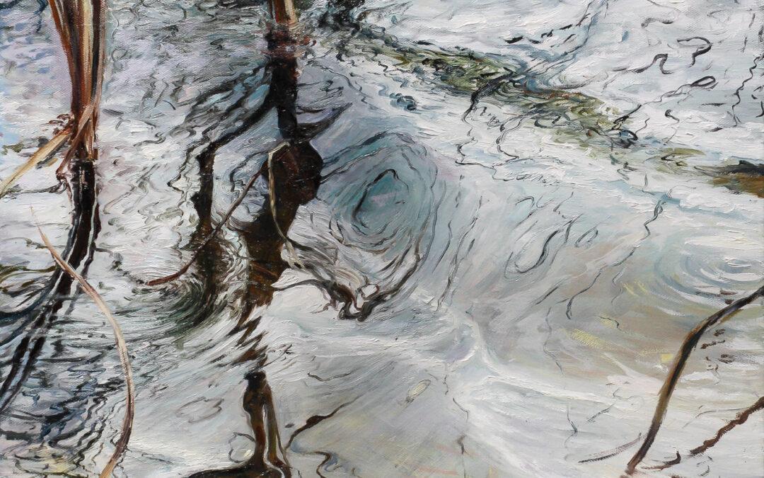 Diptychon Wasserspiegelung