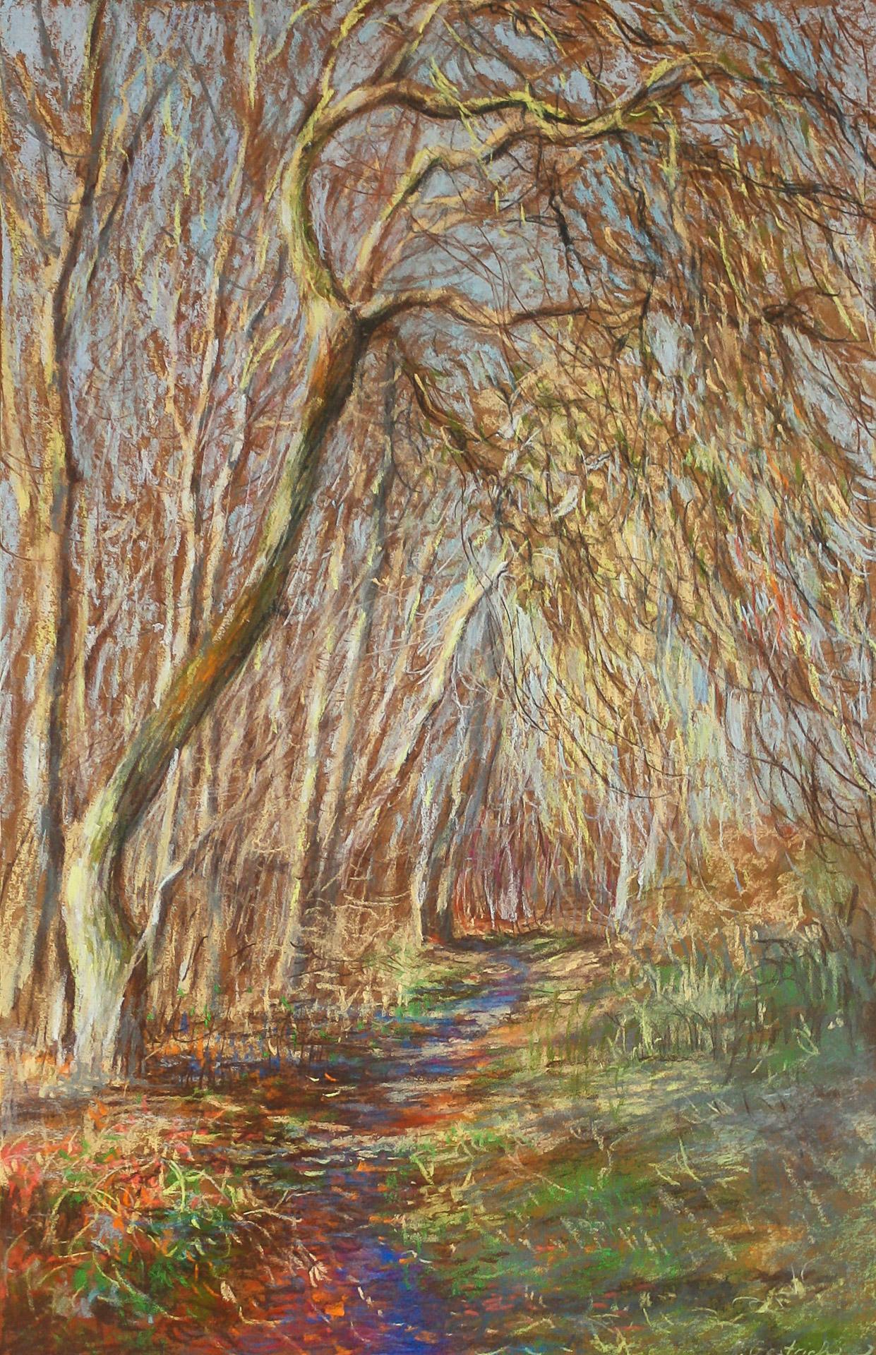 Anna Gestrich – Malerei | Der Weg am Plessower See