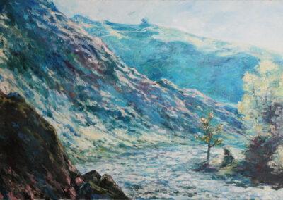"""Claude Monet """"Der alte Baum an der Einmündung"""""""