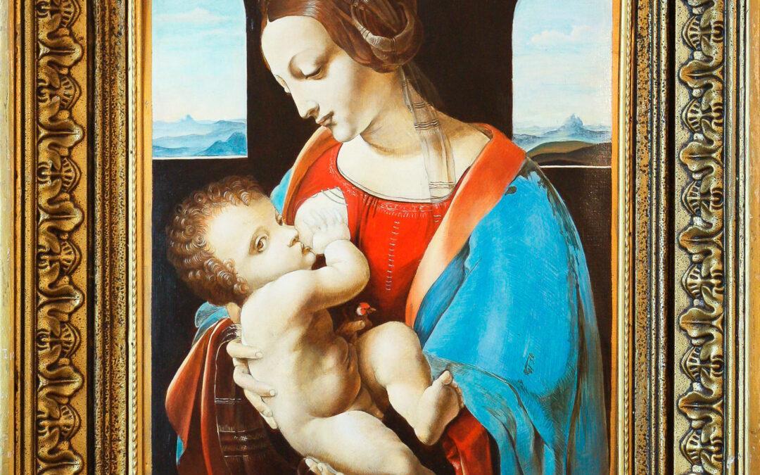 """Leonardo da Vinci """"Madonna Litta"""""""