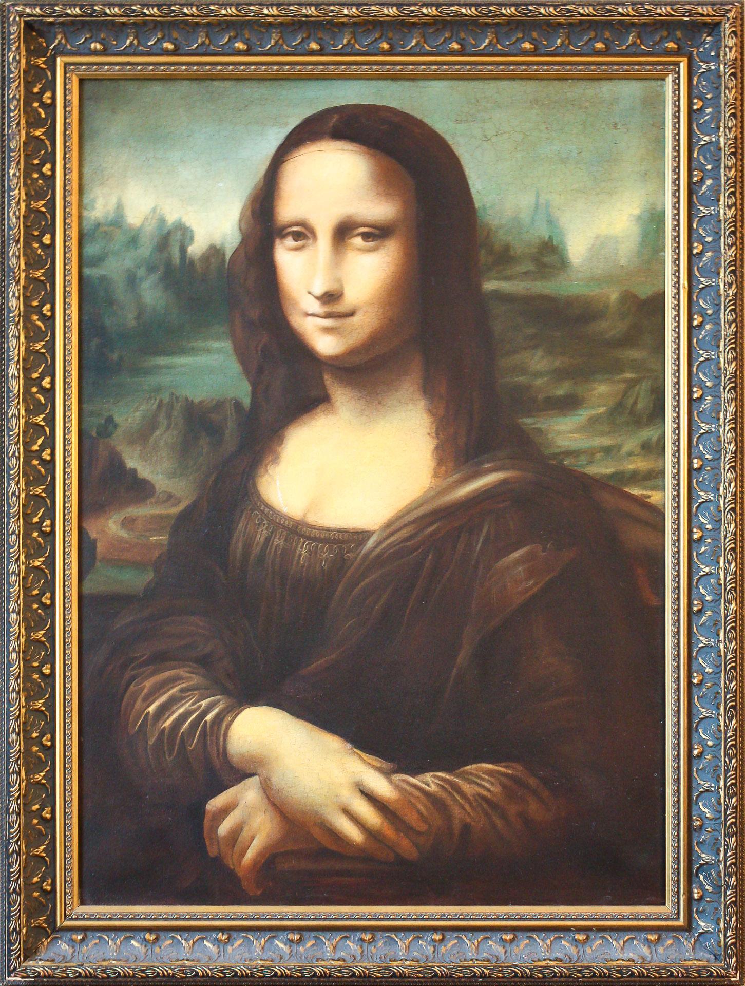 "Anna Gestrich – Kopien   Leonardo da Vinci ""Mona Lisa"""