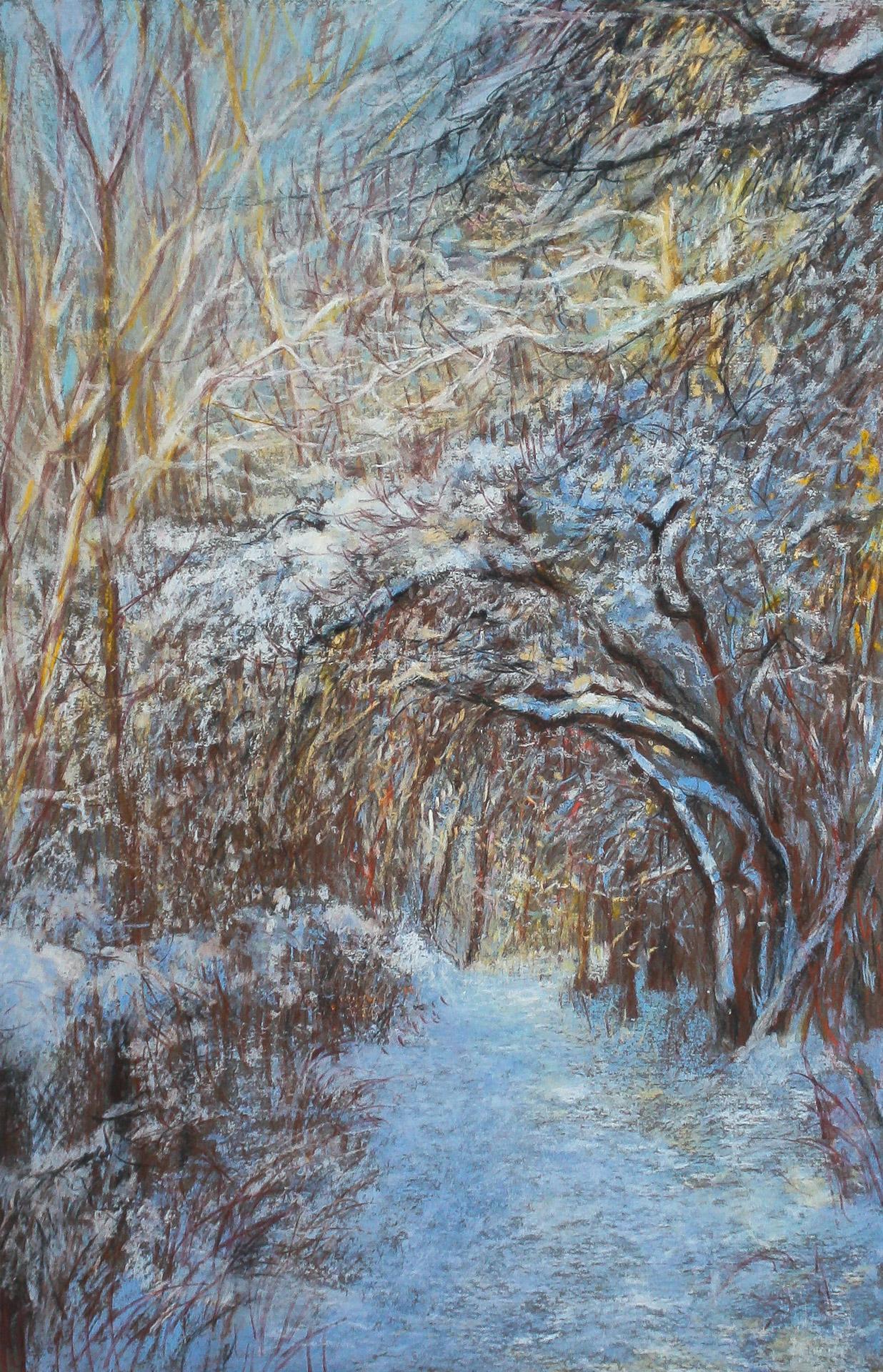 Anna Gestrich – Malerei | Der Werderpark im Winter