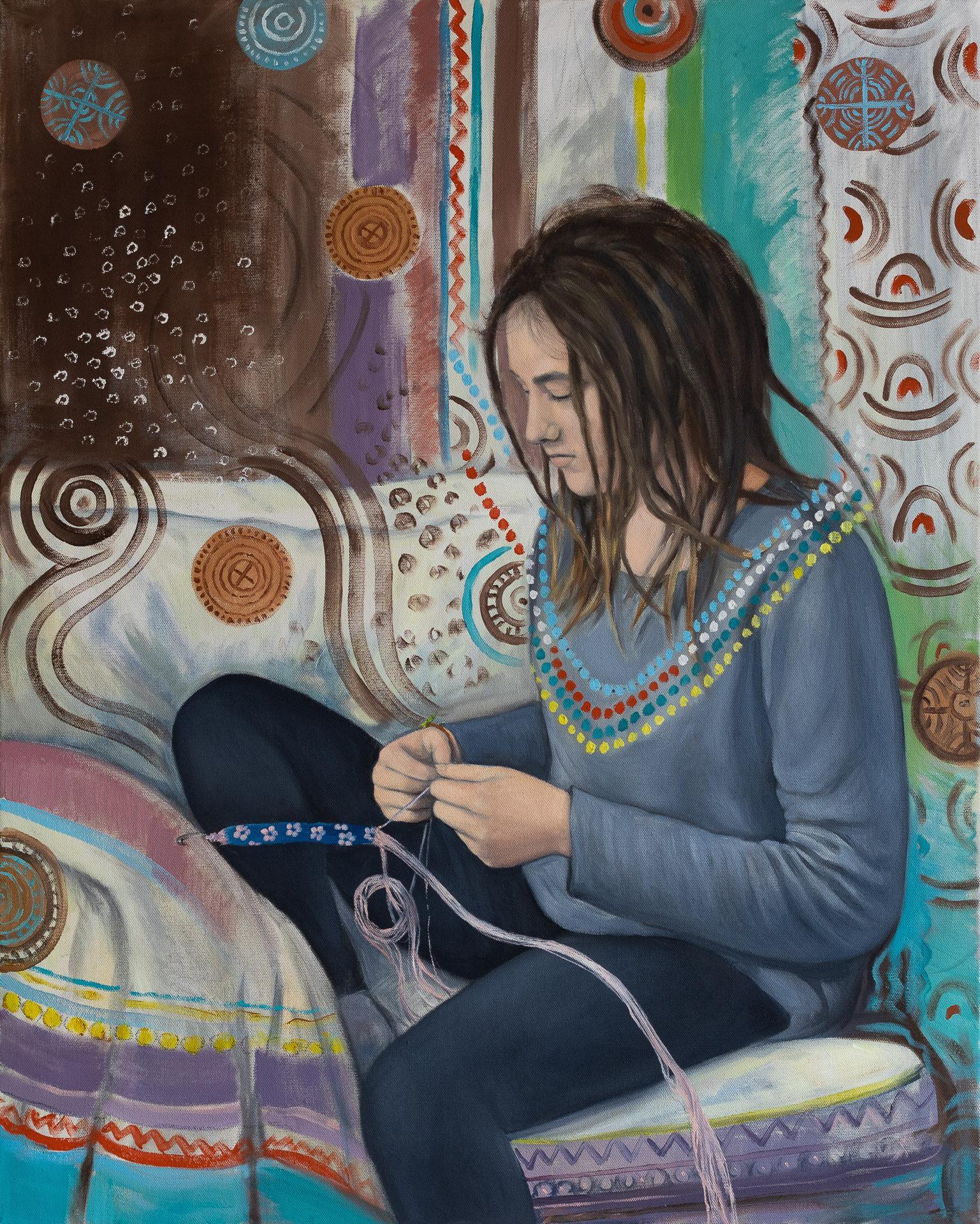 Anna Gestrich – Malerei | Verknüpfungen
