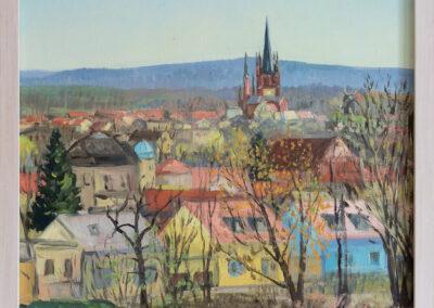 Blick auf die Insel in Werder an der Havel