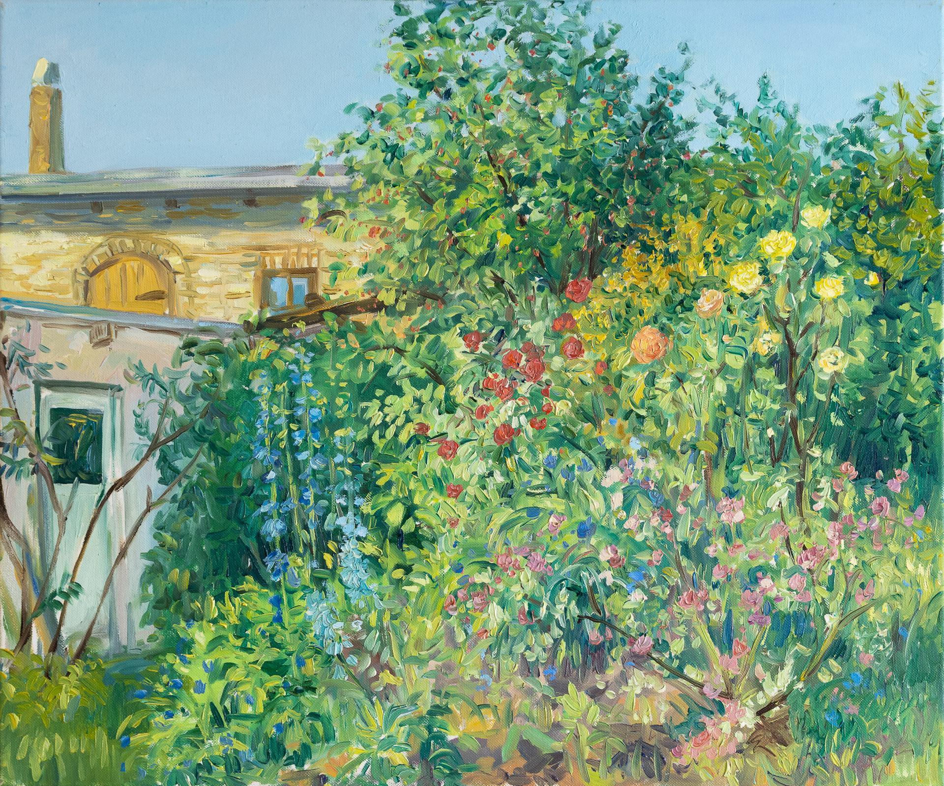 Anna Gestrich – Malerei | SOMMERGARTEN
