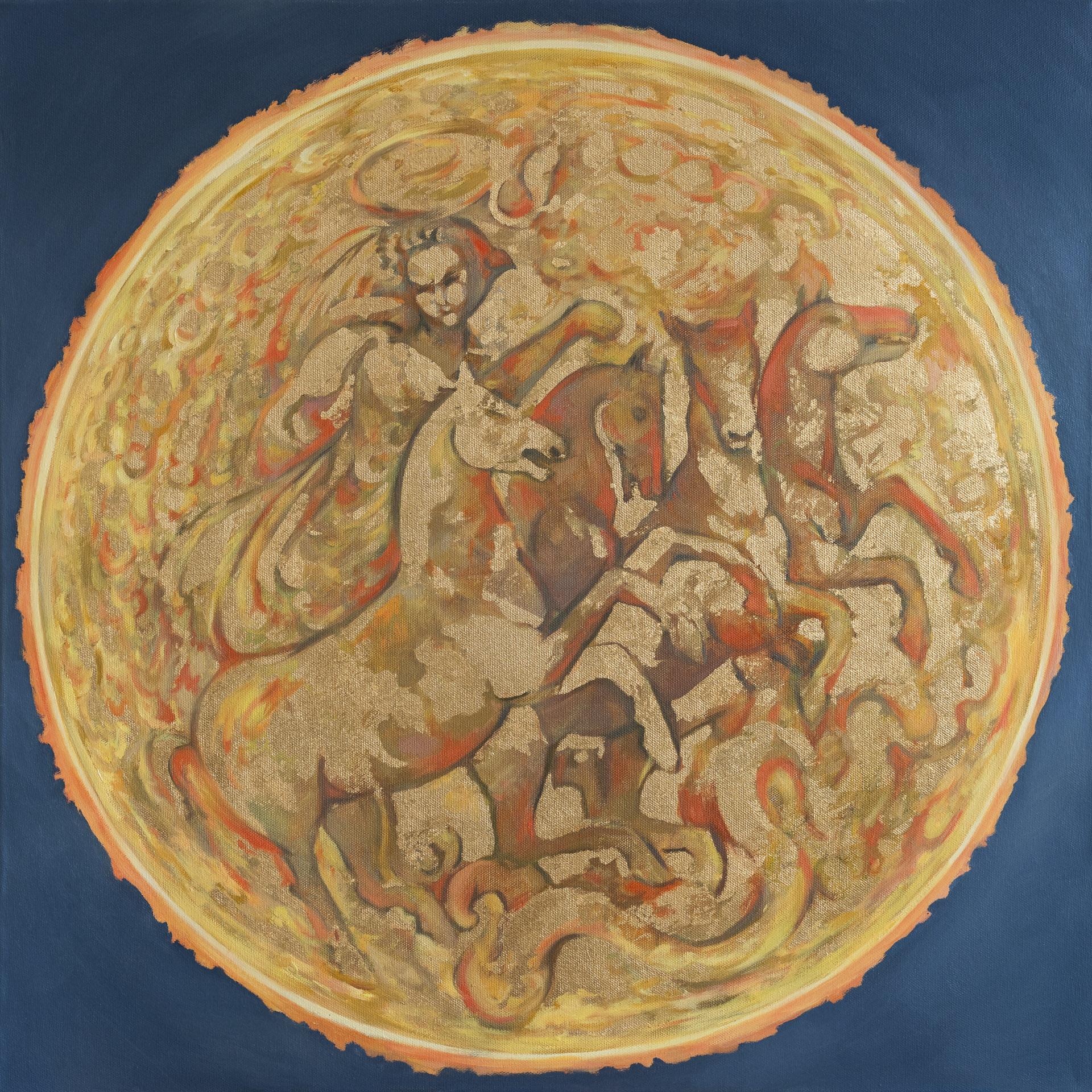 SONNE | Themenarbeiten | Anna Gestrich – Malerei