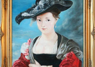 """Peter Paul Rubens """"Le Chapeau de Paille"""""""