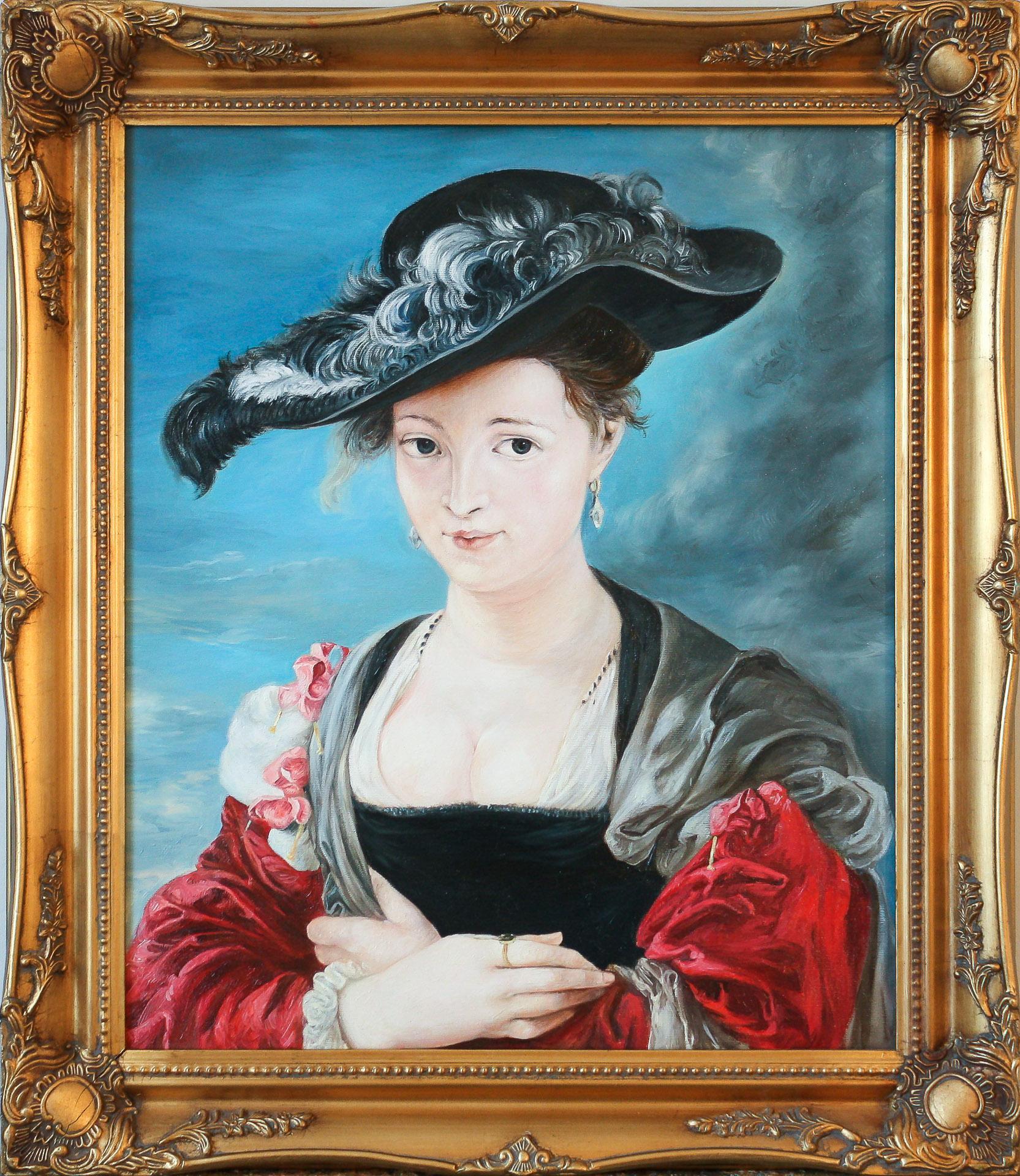"""Anna Gestrich – Kopien   Peter Paul Rubens """"Le Chapeau de Paille"""""""