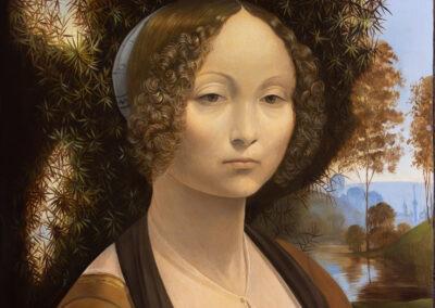 """Leonardo da Vinci """"Ginevra de' Benci"""""""