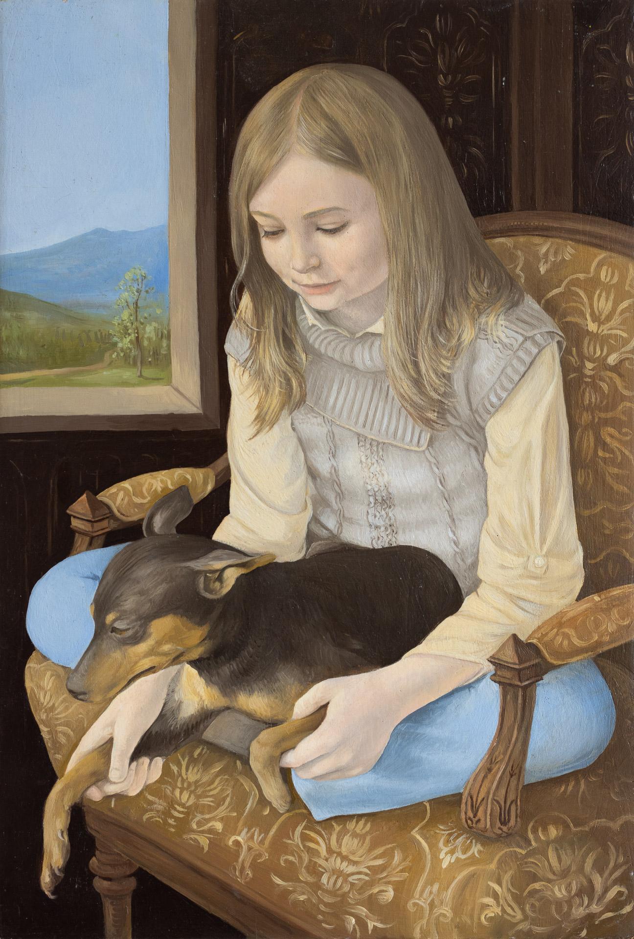 Anna Gestrich – Malerei | Mädchenportrait – Ariadne