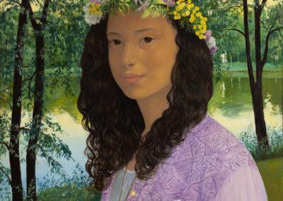 """Mädchenportrait """"Samira"""""""