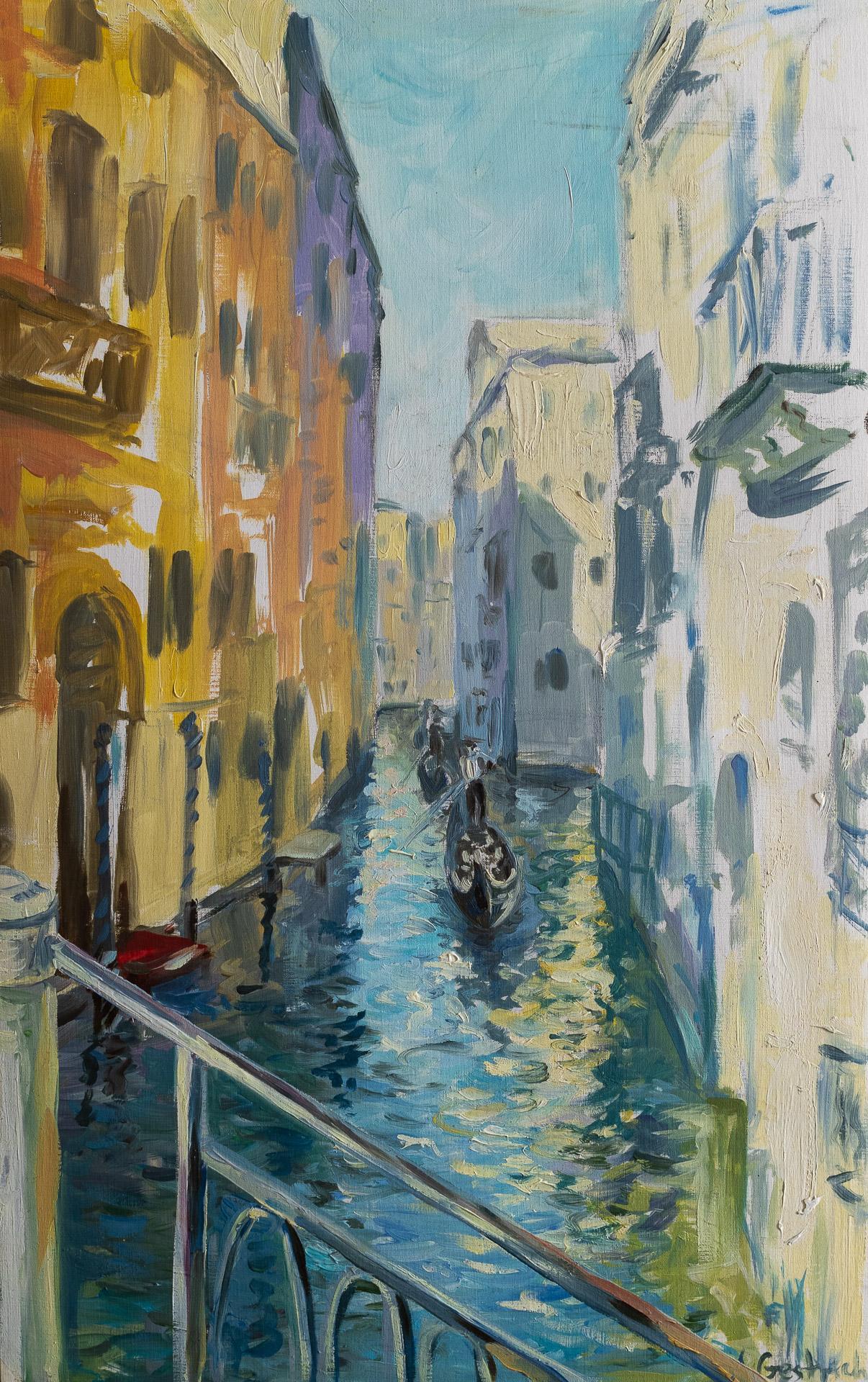 Anna Gestrich – Malerei   Die Wasserstraßen von Venedig