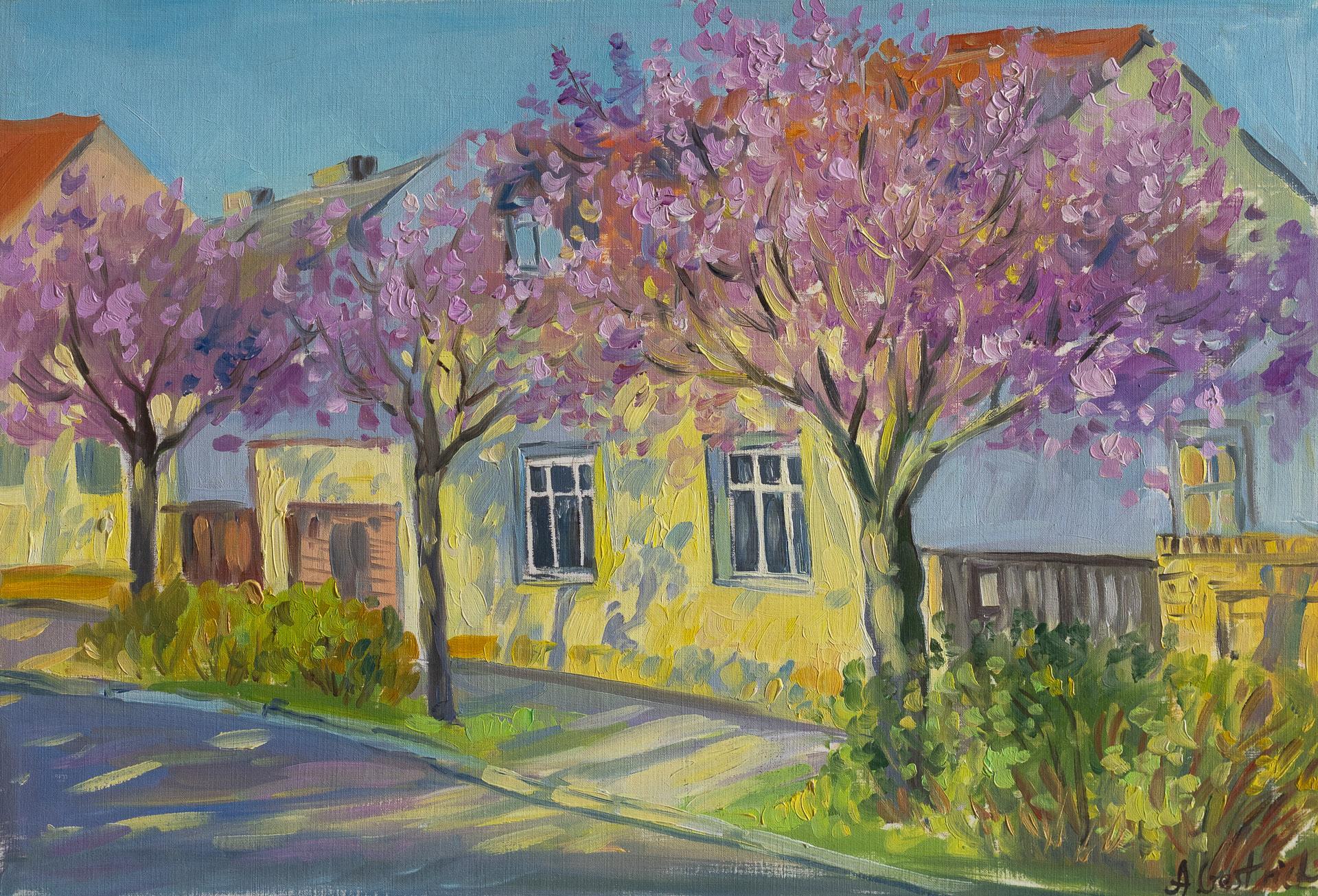 Anna Gestrich – Malerei | Baumblüte in Werder an der Havel