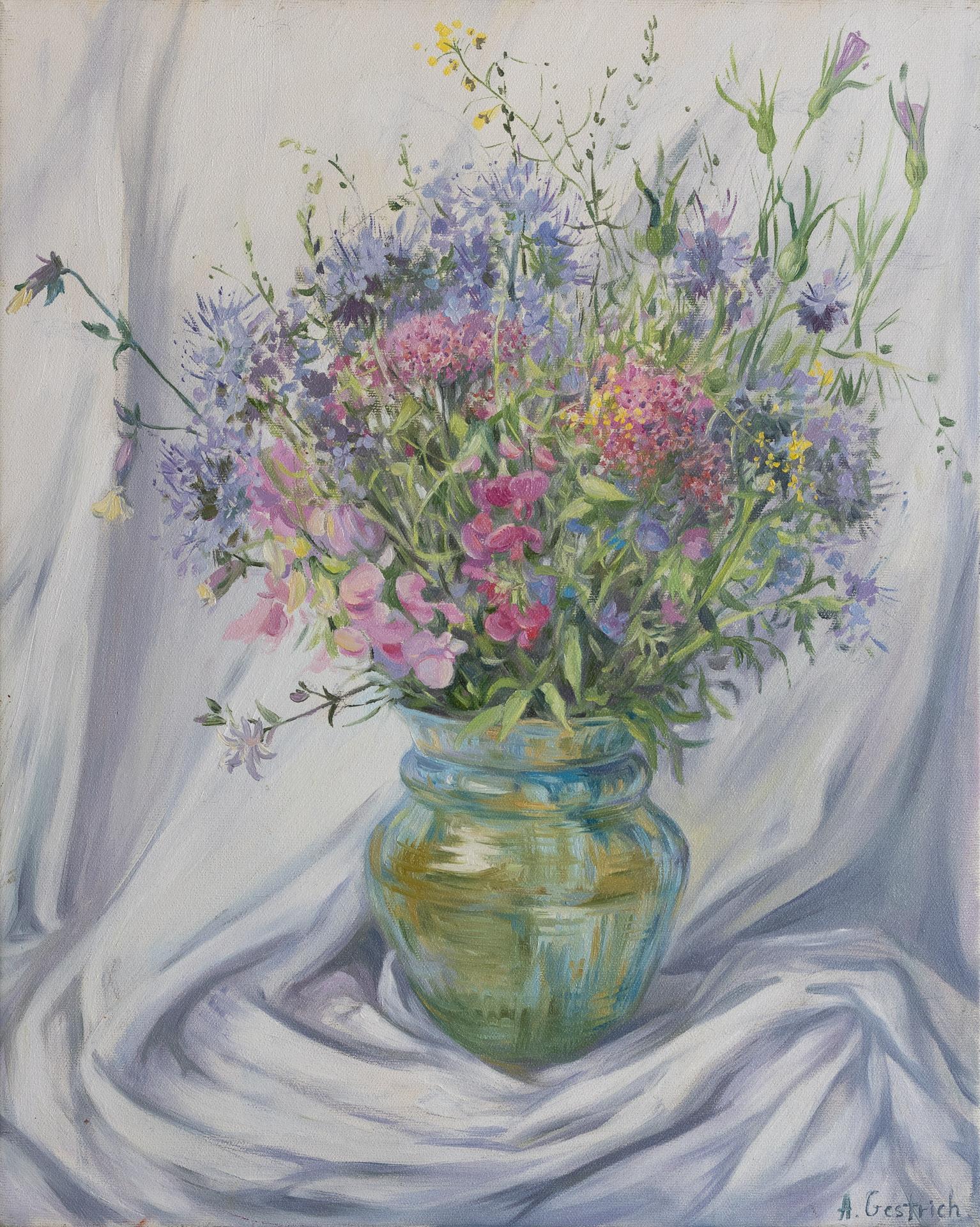Anna Gestrich – Malerei | STILLLEBEN MIT WIESENBLUMEN