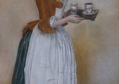 """Jean Etienne Liotard """"Das Schokoladenmädchen"""""""