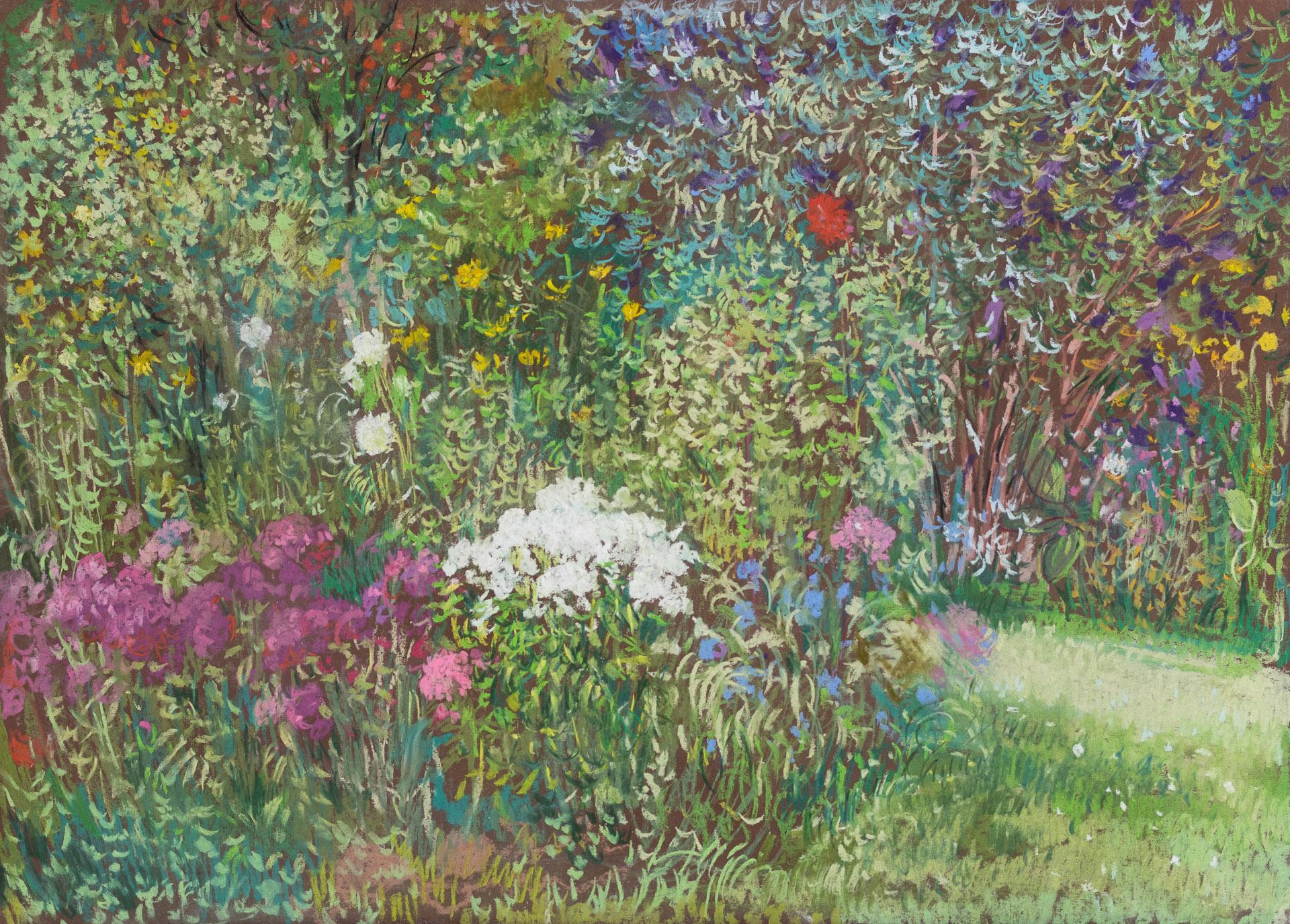 Anna Gestrich – Malerei | Blumengarten