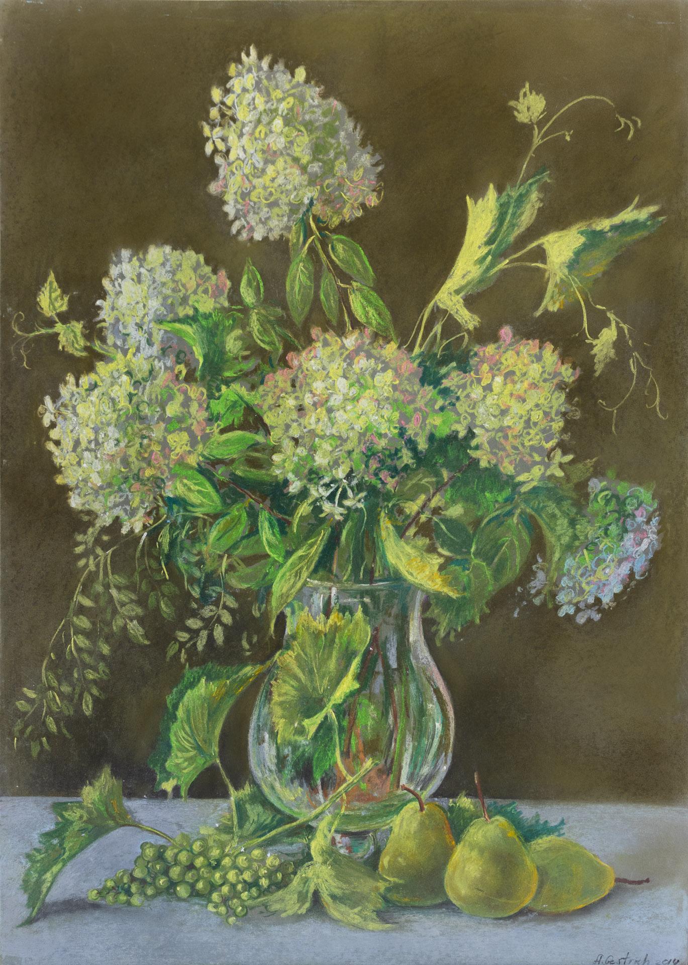 Anna Gestrich – Malerei | Stillleben mit Blumen