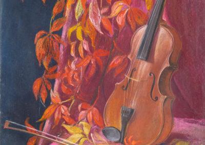 Stillleben mit Geige