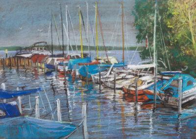 Boote auf der Havel