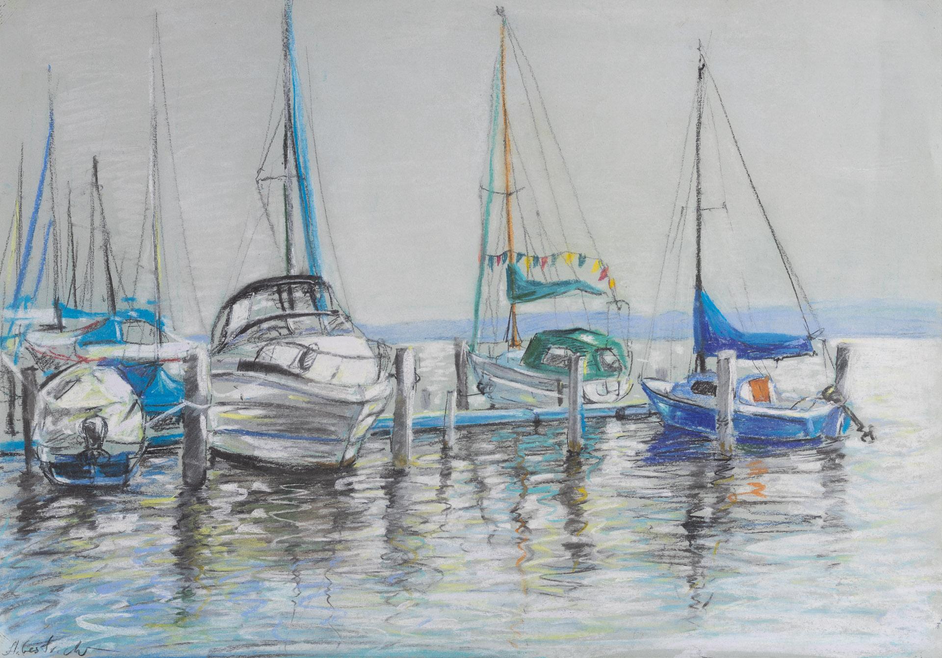 Anna Gestrich – Malerei | Havel – Boote