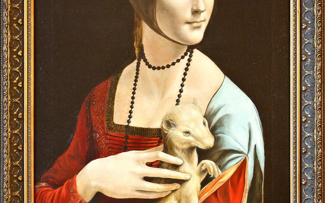"Leonardo da Vinci ""Dame mit Hermelin"""